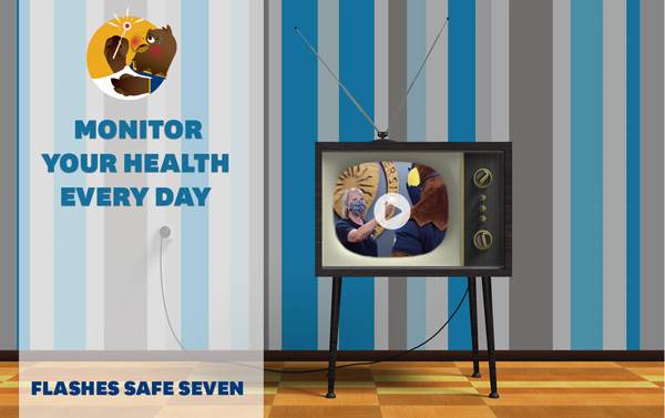 Watch the new Flashes Safe Seven video